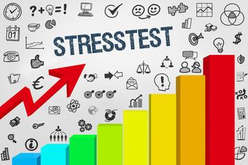 Stresstest / Diagramm mit Symbole