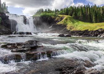 Swedens biggest waterfall © Ulf
