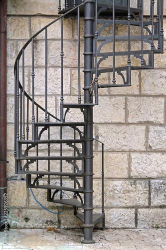 Spiral Stairs External