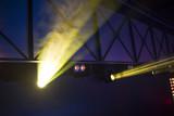 rays of light illuminate the scene - 225930500