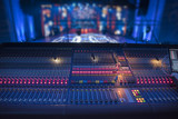 sound equipment at the concert - 225934944