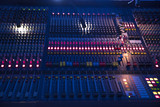 sound equipment at the concert - 225935371