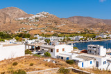 Beautiful landscape of Livadi village. The island of Serifos. Cyclades, Greece - 225936723