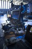 studio camera at the concert. - 225938755