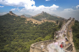 View of the great Chinese wall - 225939733