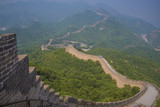 View of the great Chinese wall - 225940196