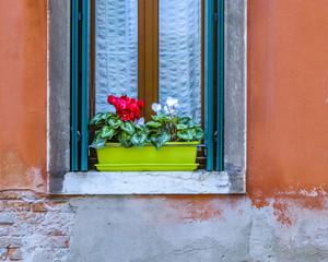 Exterior Window House, Venice, Italy