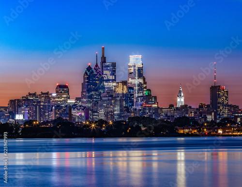 Fridge magnet Philadelphia Skyline