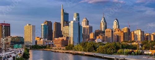 Wall mural Philadelphia Skyline