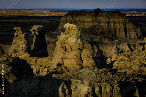 Adobe Town in the Red Desert of Wyoming