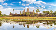 Leinwanddruck Bild - Angkor Wat temple in Cambodia
