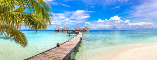Water Villas (Bungalows) in the Maldives © Sergii Figurnyi
