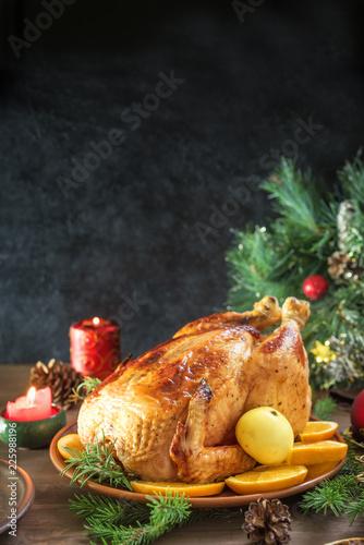 Christmas Chicken - 225988196