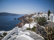 Quadro Santorini in bianco
