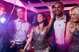 Friends dance at disco club - 226001974