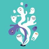 Ghost cartoon - 226006306