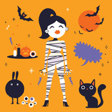 Halloween party illustrations - 226006341