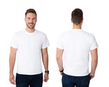 Young Man In White T-shirt - 226009138
