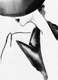 beautiful woman. fashion illustration. watercolor painting - 226010519