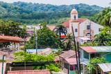 View of Portobelo village, Panama