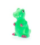 Plastic Toy Animal Dinosaur isolated on white background