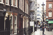 Soho in the UK, which was not that safe before, has become very colourful and peaceful neighbourhood for young people. Old brick buildings full of cafes and bars Photo taken on 30 September 2018 - 226025746