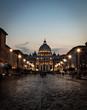 Quadro Way to the vatican (Rome, italy