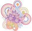 bunch of flowers design - 226075504