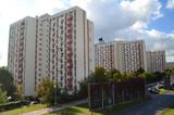Fototapeta City - Bloki mieszkalne w Katowicach/Blocks of flats in Katowice, Silesia, Poland © Peter Brewer