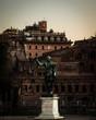 Quadro Statue in Rom
