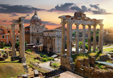 Morning on Roman Forum