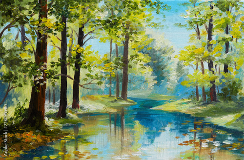 oil-painting-landscape-river-in-the-forest-summer-day