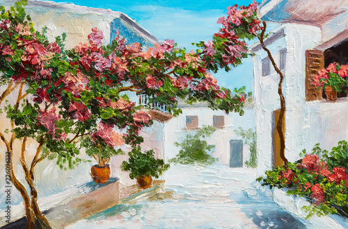 oil-painting-house-near-the-sea-colorful-flowers-and-trees-summer-seascape