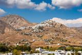 Mountain landscape. The island of Serifos. Cyclades, Greece - 226100362