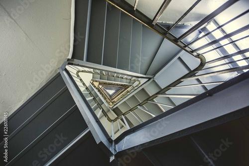 Vertigo Triangular Staircase Photo - 226101145
