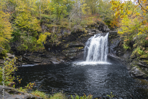 Falls of Falloch, Loch Lomand National Park, Scotland - 226106917
