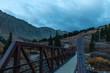 Beginning Gray's Mountain Hike 14er Colorado