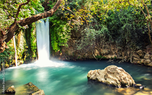 Hermon stream Banias  waterfall - 226151123