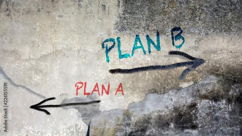 Schild 391 - Plan B