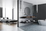 Master bedroom and bathroom interior - 226158101