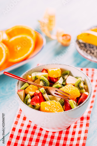 Foto Murales Healthy Fruit Salad