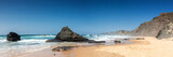 Panorama of Praia do Castelejo