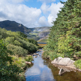 Stunning landscape image of countryside around Llyn Ogwen in Snowdonia during early Autumn - 226170186