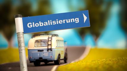 Schild 366 - Globalisierung