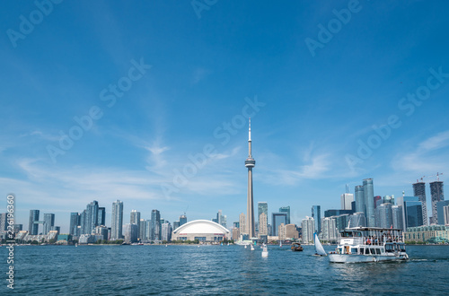 Wall mural Toronto cityscape
