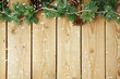 Christmas holiday wooden vintage background.