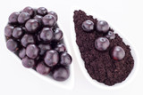 Acai berry and powder - Euterpe oleracea
