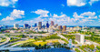 Atlanta, Georgia, USA Skyline Panorama