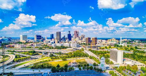 obraz lub plakat Atlanta, Georgia, USA Skyline Panorama