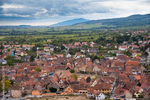 Blick auf Obernai im Elsass - 226237903